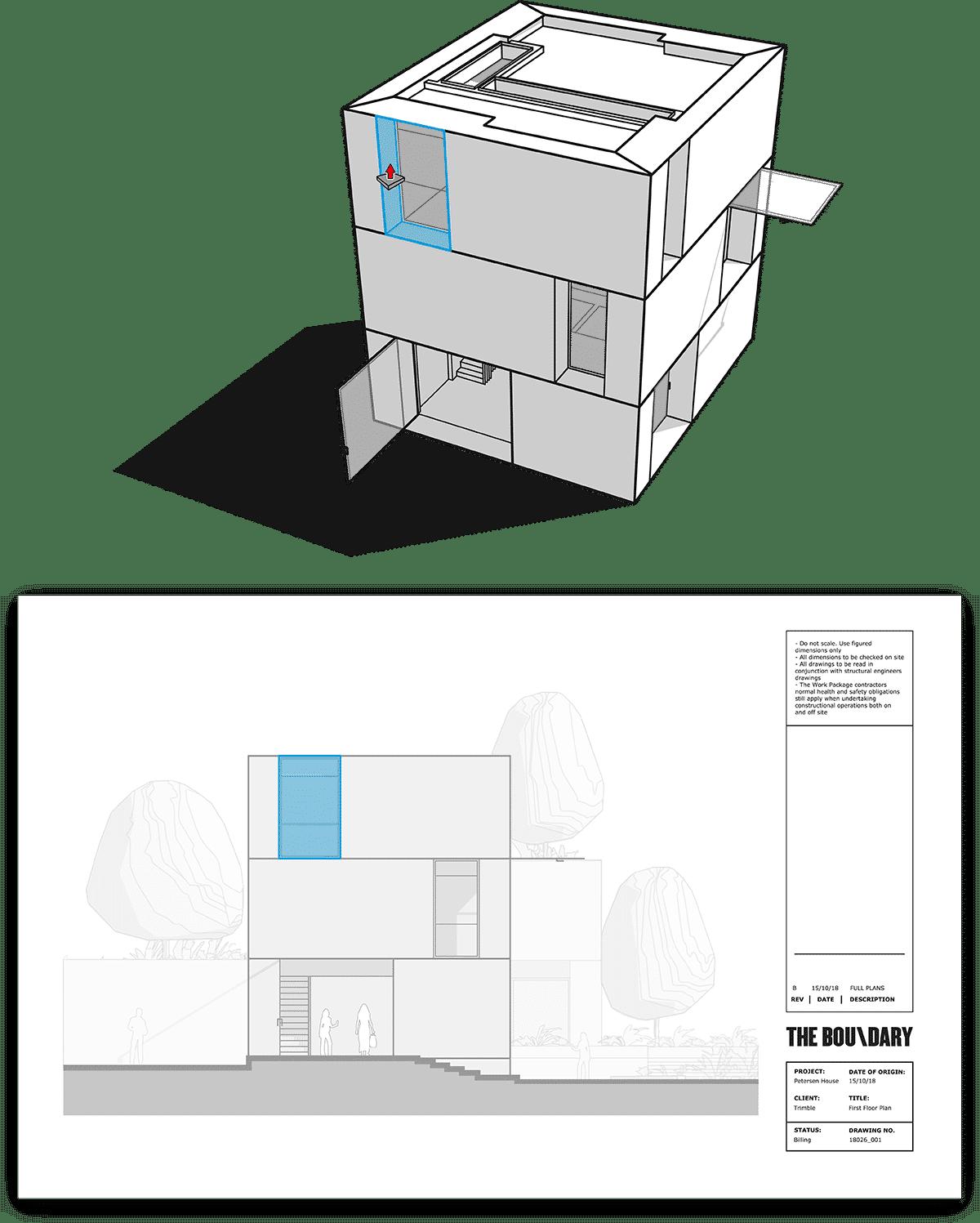 SketchUp LayOut Associative Dimensions