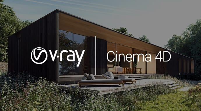 v ray cinema4d