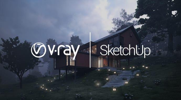 v ray sketchup