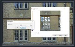 Orthophoto creation tools from point clouds