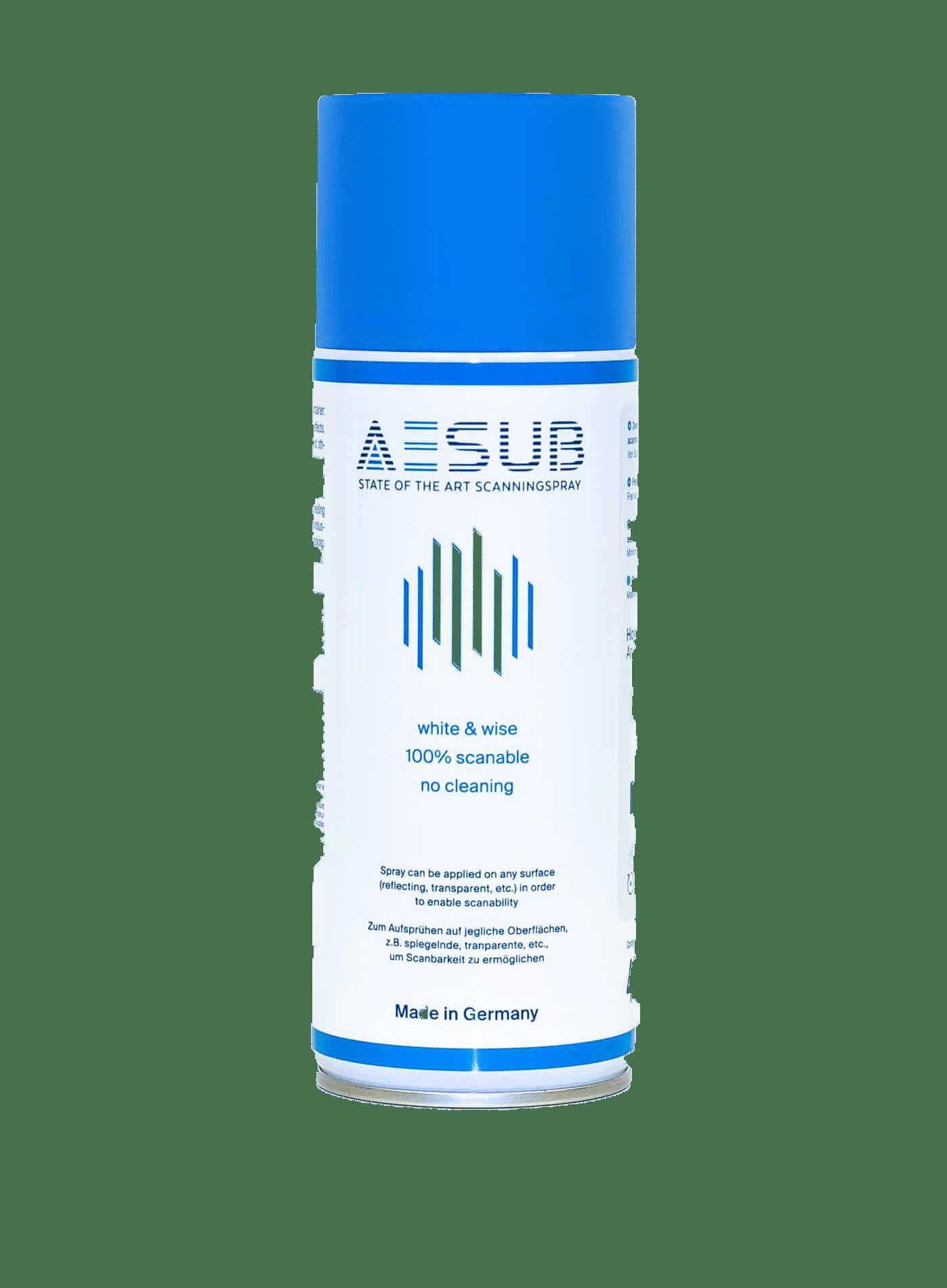 Aesub Blue 3D scanning spray
